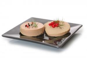 Le foie gras Christmas in Frankreich