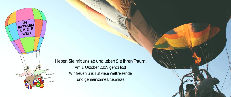 Air Balloon - In 80 Tagen um die Welt