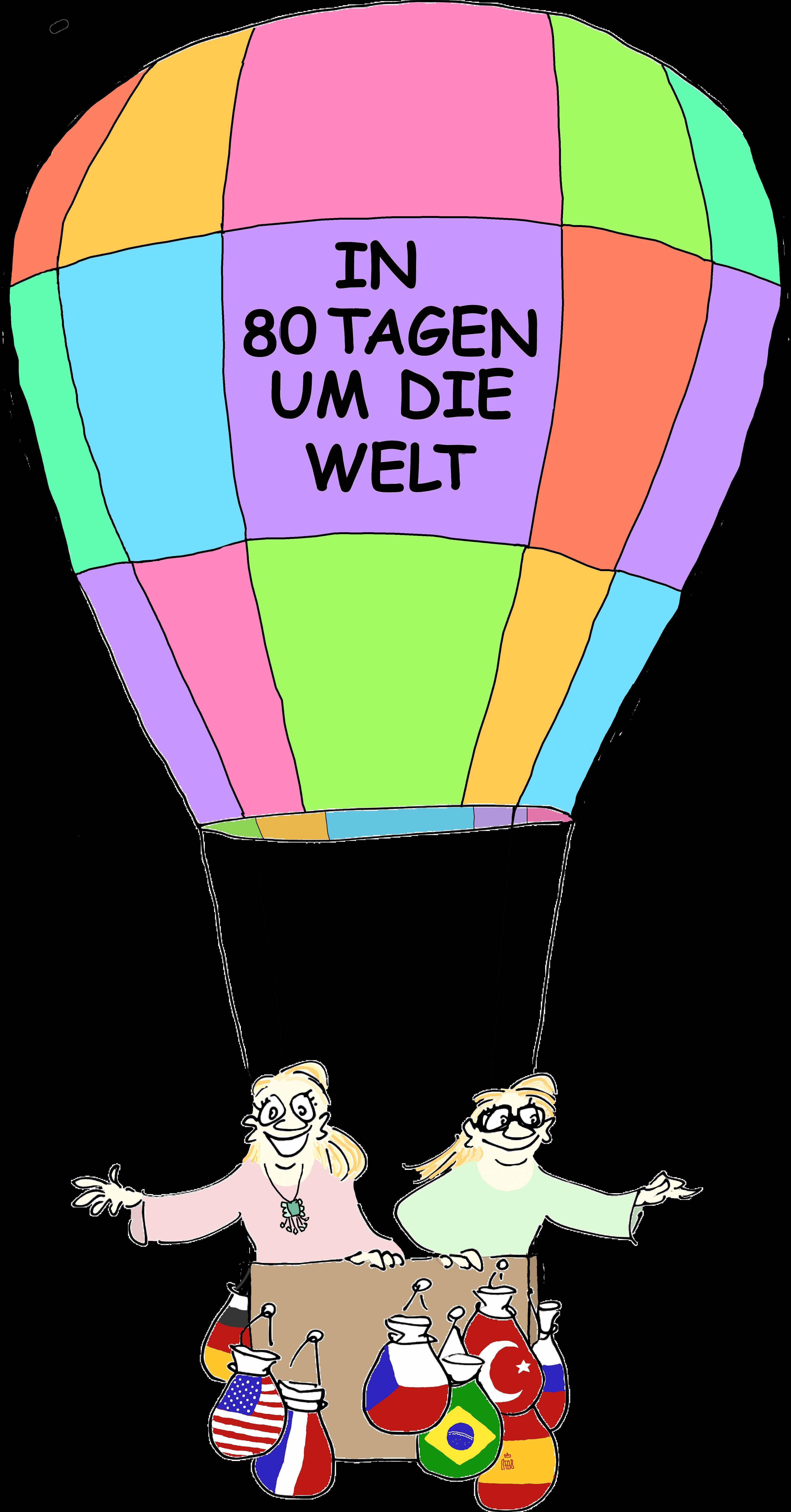 In 80 Tagen um die Welt - CL DML Balloon