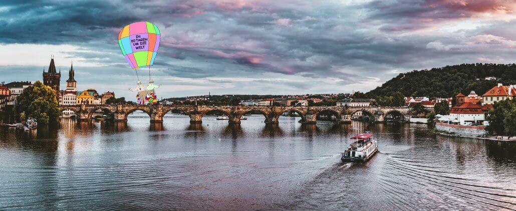 Prag - In 80 Tagen um die Welt