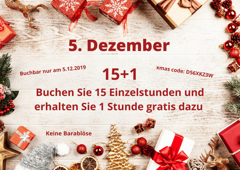 Adventkalender - 5. Türchen - 15+1