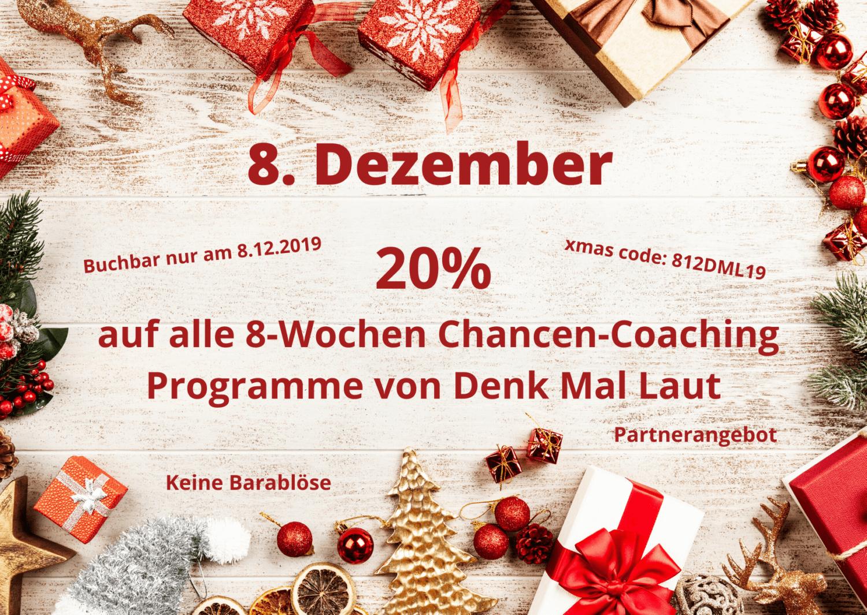 Adventkalender - 8. Türchen - 20% auf DML Angebote