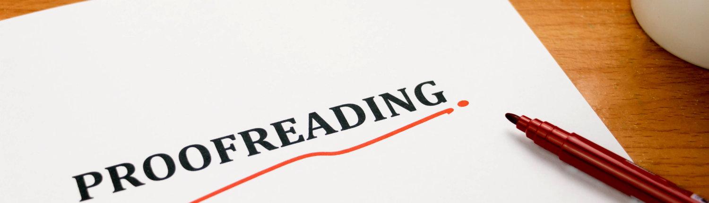 Proofreading Korrektorat Lektorat